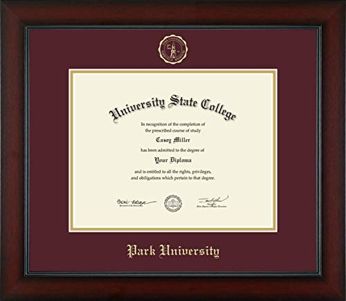Park University - Officially Licensed - Gold Embossed Diploma Frame - Diploma Size 11