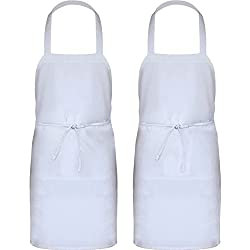 Kitchen Professional Bib Apron, 2-Pack