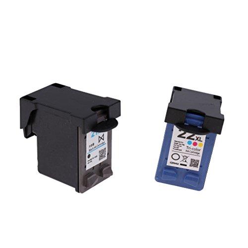 SM SunniMix Cartuchos De Tinta 2Pcs/Lot 21XL/22XL Reemplazo Para HP PSC 1402 1406 1408 1410