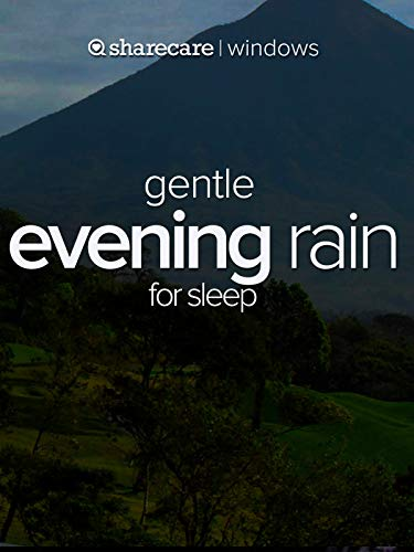(Gentle evening rain)