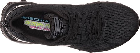 Skechers Sport Women's Skech Air Run High Fashion Sneaker B017WJRCU2 6.5 B(M) US|Black