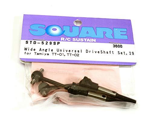 Wide angle universal drive shaft set (Tamiya TT-01) 29mm STD-529SP