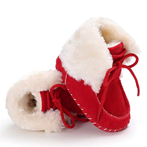 Pictures of Fnnetiana Newborn Baby Warm Winter Snow Boots 2