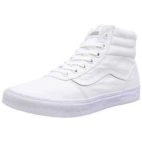 e0d3d99720 Vans Milton Hi Women US 8.5 White Sneakers free shipping ...
