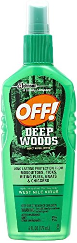 - OFF! Deep Woods Off! Insect Repellent Pump 6 oz (Pack of 2)