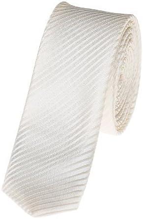 Paisley of London -Corbata para Niño de color Ivory de talla One size