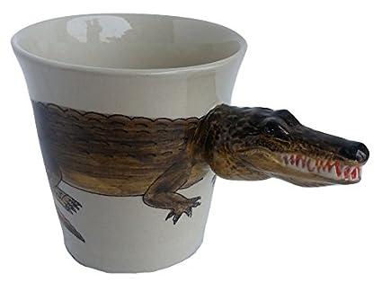 b2see Animales de perros de gatos de tazas de 3d de cerámica Taza de tazas de