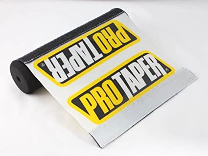 Durable Resilient Pro Taper Professional Crossbar Protector Pad for 7.9 Black Rockstar