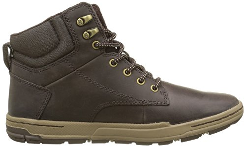 Caterpillar Colfax Mid Mens Leather Boots / Sneakers Brown TqD80ea7