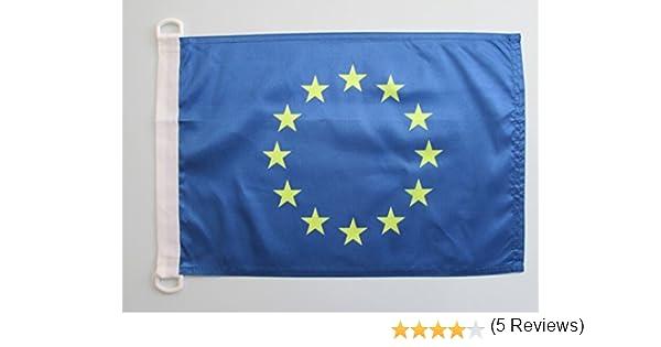 AZ FLAG Bandera Nautica de Europa 90x60cm - Pabellón de ...
