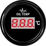 SJ Series DN52mm Digital Oil Temp Gauge Oil Temp Meter with Temp Sensor PN: 810-00140 (BN)
