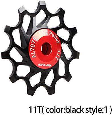 1 Pair 11T//13T Bearing Jockey Wheel Rear Derailleur Pulley Aluminum Bicycle Guide Roller VGEBY1 Bike Derailleur Pulley