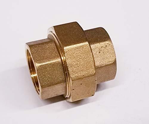 - TIB Brass Split Union Coupling Pipe 1