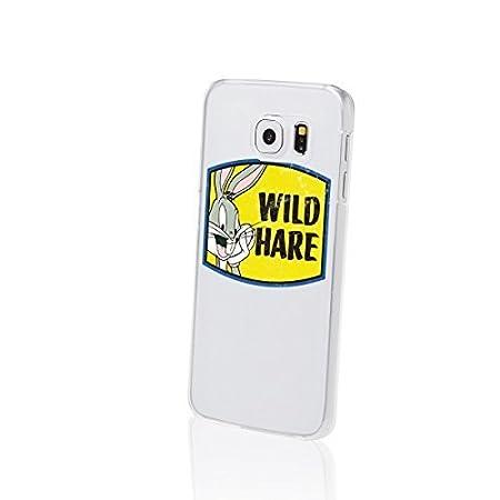 3ade49d1b93d Finoo Samsung Galaxy S6 S6 Edge Hard Case Bugs Bunny Looney Tunes Serie 1 -  Wild Hare