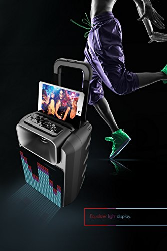 Amazoncom Sharper Image Sbt1016bk Bluetooth Wireless Portable