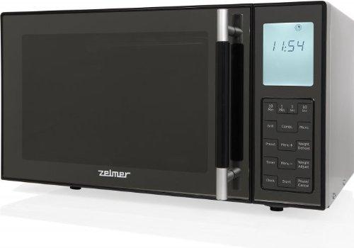 Zelmer MW4163LS - Microondas con grill, 23 l, 900 W, color ...