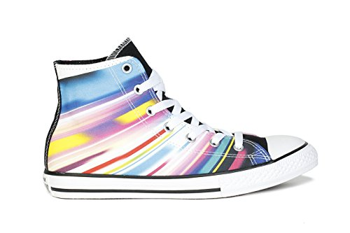 Converse Kids Sneakers Chuck Taylor All Star Hi Black Aurora Yellow ( Little Kid /Big (Costume Converse)
