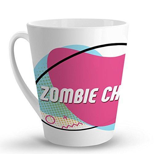Makoroni - ZOMBIE CHICK - 12 Oz. Unique LATTE MUG, Coffee Cup