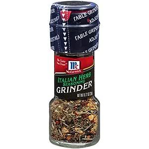 McCormick Italian Herb Seasoning Grinder, 0.77 oz