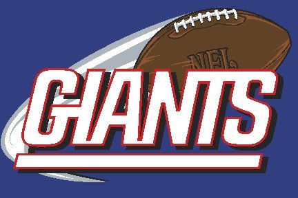 The Northwest Company NFL New York Giants TUFTED RUG 20 X 30