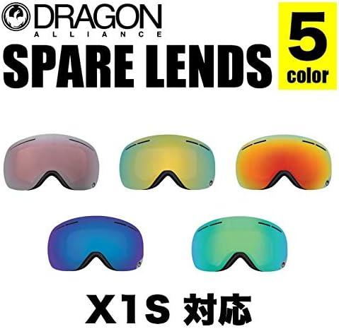DRAGON ドラゴン 2962 X1S LENS エックスワンエス レンズ 2962 ルーマ ジャパン シルバー イオナイズ