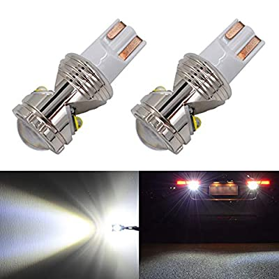 Calais 921 912 LED Reverse Light Bulbs Super Bright LED 921 T15 T16 W16W Bulb for Backup Back up Parking Lights,High Power CREE Chip 6500K White (Pack of 2): Automotive