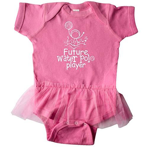 inktastic Future Water Polo Player Infant Tutu Bodysuit 6 Months Raspberry