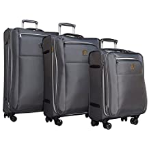 """it luggage Megalite X-Weave 8 Wheel Expandable 3-Piece Luggage Spinner Set: 29"""", 25"""", and 21"""""""