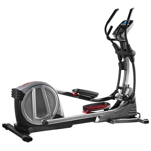 41iWSDgSr5L - Pro-Form PFEL18014 Smart Strider 735 iFit Compatible Elliptical with Adjustable Incline 22 Workout Apps EKG Grip Pulse Heart Rate Monitor CoolAire Workout Fan iPod Music Port and SpaceSaver