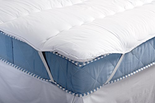 Musbury Deluxe Channel Quilted Mattress Topper/Comforter Double 135/190cm