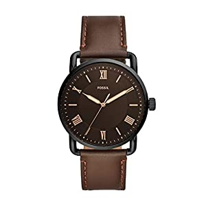 Fossil Analog Black Dial Men's Watch-FS5666