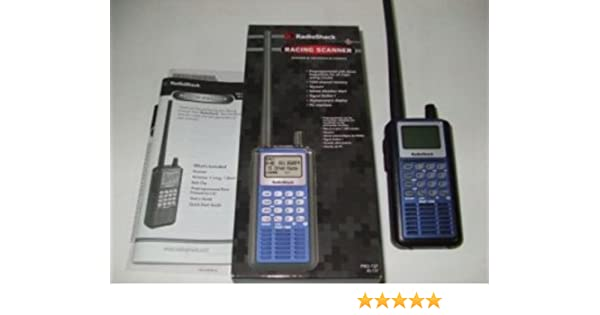 Amazon com: RadioShack Hand Held Racing Scanner Pro-137 20