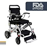 Best Electric Wheelchairs - 2019 UPGRADED Folding Electric Powered Wheelchair, Supports up Review