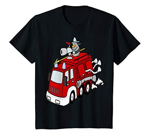 Kids Unisex Toddler Fire Engine T Shirt Gift Idea