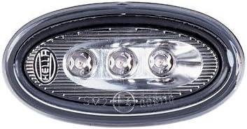 Hella 2ps 008 138 821 Seitenmarkierungsleuchte Led 12v Lichtscheibenfarbe Grau Led Lichtfarbe Gelb Einbau Einbauort Links Rechts Menge 4 Set Auto