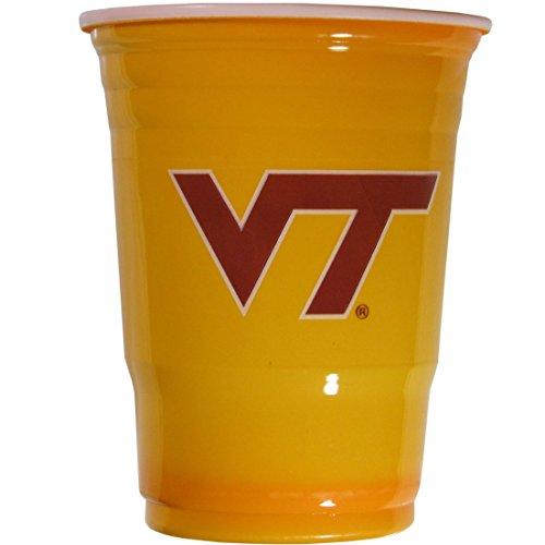 NCAA Virginia Tech Hokies Plastic Game Day Cups, Orange, Adult