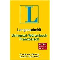 Langenscheidt Universal-Wörterbuch Französisch: Französisch-Deutsch / Deutsch-Französisch