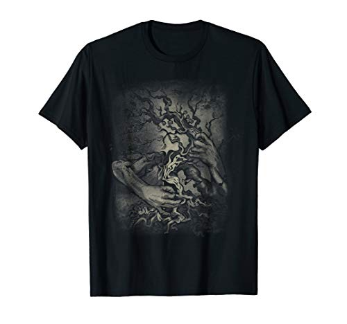 GUITAR TREE - rock and roll - heavy metal - music - T-shirt