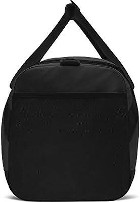 Nike Nk Brsla L Duff Gym Bag, Unisex adulto, Black/Black/(White ...