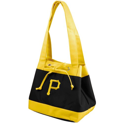 MLB Pittsburgh Pirates Fashion Lunch Bag with Embroidered Logo