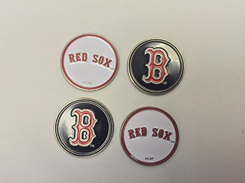 Boston Red Sox MLB Golf Ball Markers 4-Pack