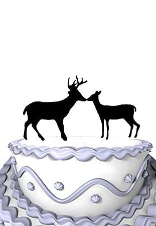 Mei Jia Fei Wedding Cake Topper Buck Doe Land Hochzeit Jagd