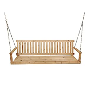 Leigh Country Unfinished Porch Swing, 5-Feet