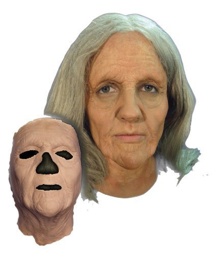 Prosthetic Old Woman Mask by Halloween (Fx Halloween Mask)
