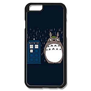 Custom Doctor Who Rainning Totoro Movies Phone Case Shell For IPhone 6