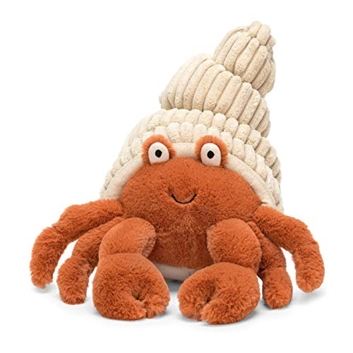 Jellycat Herman Hermit Crab Stuffed Animal, 14 inches