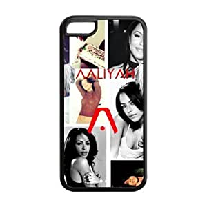 MMZ DIY PHONE CASECustom Your Own Beautiful and Sexy Aaliyah Silicon iphone 5c Case , Best Durable Aaliyah iphone 5c Case