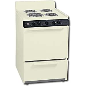 Premier : 24 inch Compact Electric Range w/ Standard Cleaning Oven BIS