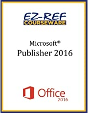 Microsoft Publisher 2016: Overview: Student Manual (Color)