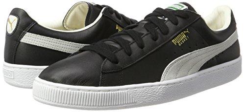 Uomo Basket Puma white Nero Classic black Da Scarpe qwxt8ICxF